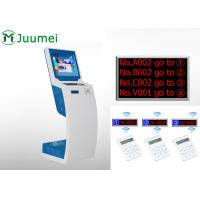 China Smart Queue Management Ticket Dispenser Easy Operation With Voice on sale