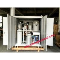 Vacuum Gear Oil Cleaning Machine, Gear Oil Purifier Machine , Lube Oil Separator System Manufactures