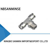 SSB Tee Air / Hydraulic Hose Fittings For Food Service / Chemical Industry Manufactures