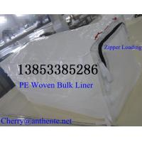 China Zipper loading HDPE Woven Container Liner on sale