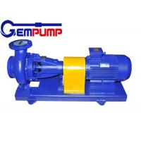 Tray type BF Horizontal hydrochloric acid pump 5.2m ~ 100m Head Manufactures