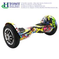 Flexible 2 Wheeled Electric Skateboard Smart Self Balancing Scooter 12 KM\H with Chic License Manufactures