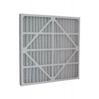 G4 Pleats Type Cardboard Frame Primary Air Filter For Air Conditioning System for sale