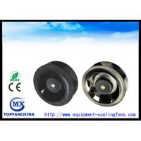 225mm × 99mm Backward Curved DC Centrifugal Fan  / DC Duct Inline Cooling Fan Manufactures