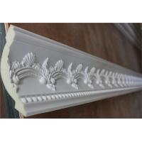China Polyurethane White Color Carving Cornice Moulding Ceiling Decorative Line on sale