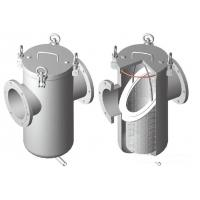 China Steel Oi l / Gas Water Meter Strainer 150lbs / PN16 , Straight Basket Type Strainer for sale