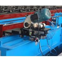 Buy cheap Gearbox Transmission PU Foam Shutter Door Roll Forming Machines With Saw Cutting from wholesalers
