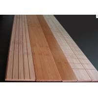 Carbonized or Natural home radiant Heating System Bamboo Flooring  Manufactures