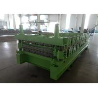 Main Power 5.5Kw IBR And Corrugated  Double Layer Roof Panel Roll Forming Machine Manufactures
