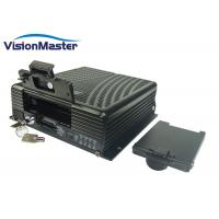 China 2TB HDD 3G / 4G Vehicle Mobile DVR For Bus Taxi dvr manufacturer on sale