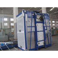 Twin Cage Personnel Hoist Industrial Lift Construction Elevator Manufactures