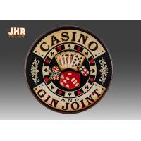 Casino Wall Decor Antique Wooden Wall Signs Decorative Wall Plaques Pub Sign Manufactures