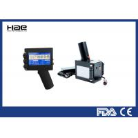 Bottle Box Handheld Thermal Inkjet Printer , Easy Operate Expiry Date Inkjet Printer Manufactures
