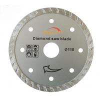 ISO9001 Turbo Thin Diamond Saw Blade 5 Inches For Ceramic / Porcelain Manufactures