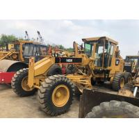 2012 Year Used Motor Grader , Used Caterpillar 140h Grader Japan 123KW 8700x2400x3000mm Manufactures