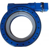 Quality 50Mn 42CrMo Worm Gear Slewing Ring Bearing For Solar Tracker / Wind Turbine for sale