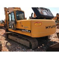 Hyundai R210-5D Used Excavator Machine 125Kw Power 2008 Year Yellow Color Manufactures
