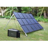 400 Watt Camping Emergency Power Generator , Portable Solar Power Systems Manufactures