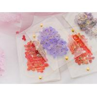 acrylic invitation magnetic wedding and envelope card double layers flower Manufactures