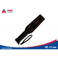 High Performance Police Scanner Equipment , Hand Held Security Metal Detectors Manufactures