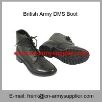 Wholesale Cheap China Military Full Leather Army Police DMS Boot Manufactures
