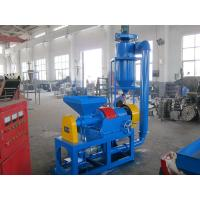 China Blue Waste Tire Recycling Equipment , Waste Tyre Shredding Machine Easy Install on sale