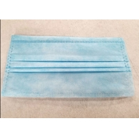 One Time Disposable 3 Ply Civilian Non Woven Fabric Earloop Mask Manufactures