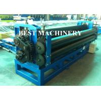 China 0.15mm Steel Horizontal Roofing Corrugated Sheet Roll Forming Machine Hydraulic Type on sale