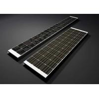 18V 170W High Efficiency Solar Panels  U - Type Monocrystalline Silicon Solar Module Manufactures