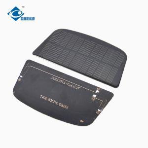 China 6V 1.1W mini Lightweight Silicon Solar PV Module ZW-1448749 small solar panels 180MA on sale