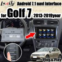 Quality Android 7.1 multimedia Video Interface integration navigation box  for VW Golf 7 with 32G ROM support apple carpaly for sale
