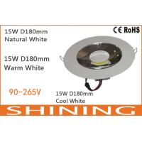 High Efficiency 2600K - 3300K COB LED Downlight 80 CRI 1200Lm For Airports Manufactures