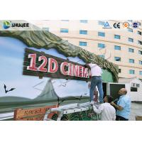 Shopping Center 12D Movie Theater XD Theater With Electronics Motion Seats Manufactures