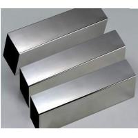China Structure Cold drawn 321 304 Stainless steel welded square pipe / tube welding 2B Polish on sale