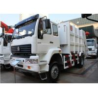 4x2 HOWO Garbage Collection Trucks 266HP Engine 10 Cubic Meter Volume Manufactures