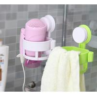 Green ECO Friendly Hair Dryer Holder Plastic Bathroom Sets With LFGB FDA Manufactures