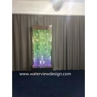 China 90*90inches Digital water bubble wall  LED water bubble panel for hotel KTV restaurant office bar SPA Mall on sale