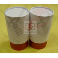 Wine Storage Paper Tube Packaging Cylinder Paper Box With Ribbon Manufactures