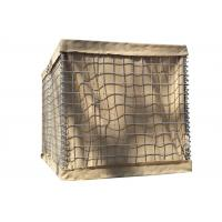 SX-3315 4315 Army Hesco Bastion Barrier Sand Wall For Flood Control Manufactures