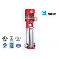 Electric Submersible Jockey Pump , Multistage Fire Pump Stainless Steel Materials Manufactures