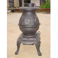 Waterproof Cast Iron Garden Chimney / Cast Iron Wood Burning Stove Manufactures