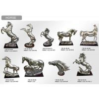 Horse Resin Resinic Polyresin Sculpture Statue Statuary Crafts Garden Manufactures