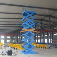 5T 6M Warehouse Cargo Lift With CE Manufactures
