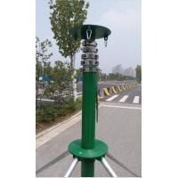 30ft portable telescopic mast light weight telescoping pole hurry-up telescopic mast 9m with tripod Manufactures