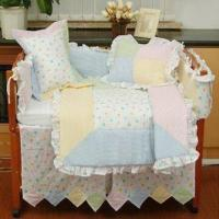 China 100% Cotton Crib Bedding Sets with Embroidery Design on sale