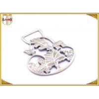 Ladies Bag Hollowed Custom Stamped Metal Logo Tags High Class Patterned Manufactures
