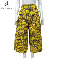 100 Percent Cotton African Print Pants Clothing Relaxed Wax Printed Anti Static Manufactures