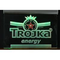 Led edge lit sign Manufactures