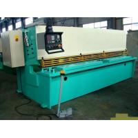 CNC Hydraulic Swing / Guillotine Beam Metal Shearing Machine For Construction Field Manufactures