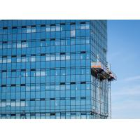 Quality Siemens Inverter FC Mast Climbing Work Max 32.2m Length Platforms for Material for sale